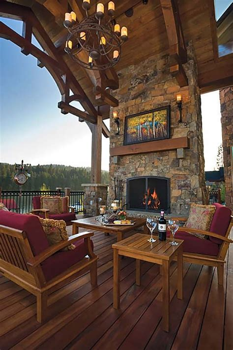 53 Most Amazing Outdoor Fireplace Designs Ever A