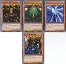 yu gi oh 4 card gate guardian economy set mint condition