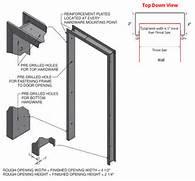 Installing New Exterior Door In Existing Frame by Door Frame Hollow Metal Door Frame Installation
