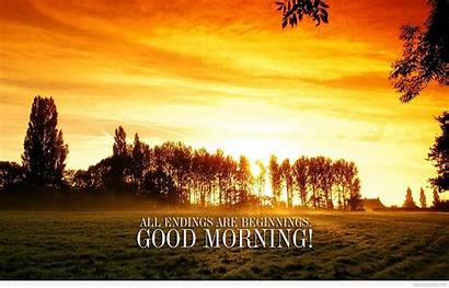 Morning Quotes Wallpapers Sayings Desktop Sky Nature