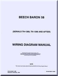 beechcraft baron 58 aircraft wiring diagram manual aircraft reports aircraft manuals