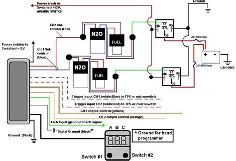 nitrous solenoid wiring diagram nitrous free engine