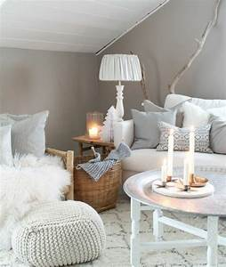 deco salon gris 88 super idees pleines de charme With idee deco salon gris et blanc