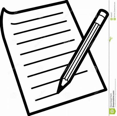 Paper Writing Clipart Clip Clipground Cliparts Type