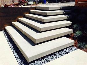 Cardiff Floating Stairs Modern Patio San Diego By