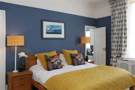 Get Premium Style With Playful Yellow Mustard Bedroom
