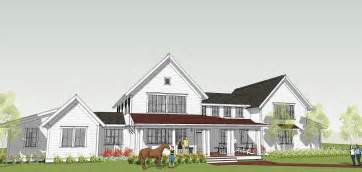 farmhouse style house plans brenner architects new modern farmhouse design completed