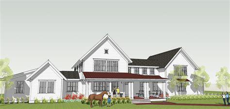 farmhouse home designs modern farmhouse by brenner architects