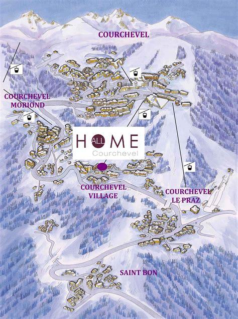 plan maison 6 chambres location à courchevel les 3 vallées appartement et