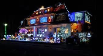 beautifully decorated  christmas season