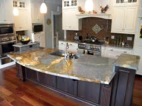 kitchen granite island blue louise granite installed design photos and reviews granix inc