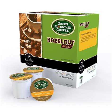 A quick google search landed me at artizan coffee co. Green Mountain Coffee® Hazelnut Decaf Single Serve K-Cup ...