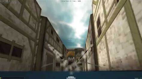 Attack On Titan Browser Game Youtube