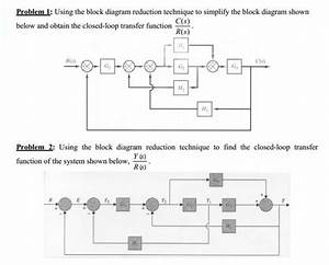 Solved  Problem 1  Using The Block Diagram Reduction Techn