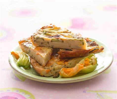 frittata fiori di zucca frittata di ceci al forno con zucchine e fiori di zucca