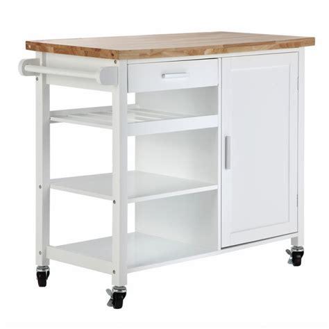 kitchen storage cart on wheels homegear deluxe kitchen storage cart island w rubberwood 8614