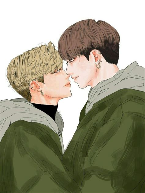 jikook fanart images  pinterest fan art