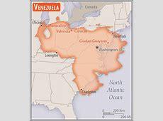 Venezuela Geography 2018, CIA World Factbook