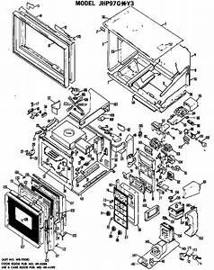 Ge Model Jhp97g Y3 Ranges  Electric Genuine Parts