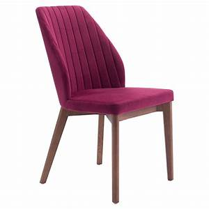 Valencia Red Modern Dining Chair Eurway Furniture
