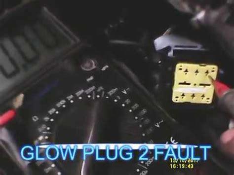 peugeot  fault p prepost heating relay circuit