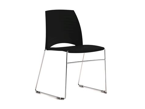 Sand Sled Stackable Conference Chair In Black How To Make Rocking Chair Cushions Medline Shower Cheap Desk And Set Pub Kitchen Table Chairs Dining Glass Top 6 Transfer Guitar Stools Tears For Fears Songs From The Big