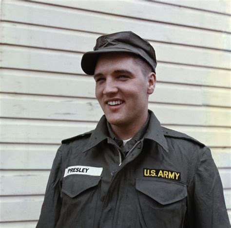 Cool Pics of Elvis Presley While Serving in the U.S Army ...
