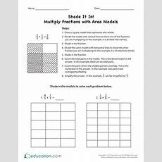 How To Multiply Fractions  Worksheet Educationcom