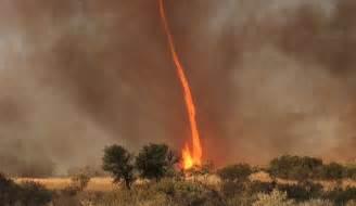 What Causes Fire Tornado