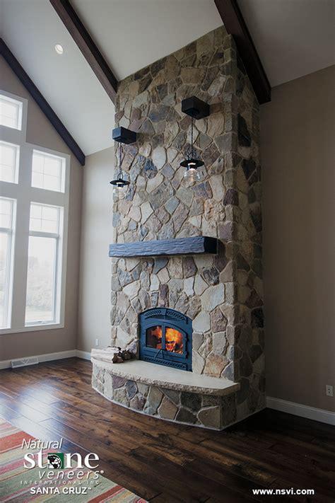 santa cruz fireplace natural stone veneers