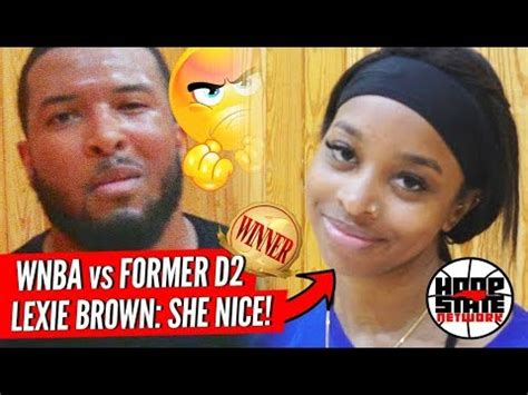 Wnba Girl Dii Guy Mercy Can You Guard Lexie Brown