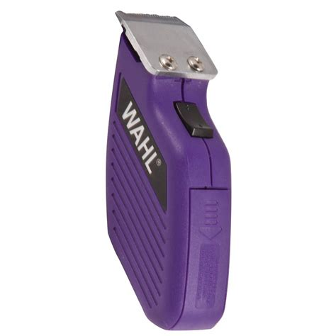 wahl pocket pro cordless dog cat trimmer purple chewycom