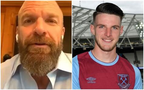 WWE legend Triple H urges Declan Rice to reject Chelsea ...