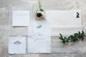ethereal vellum wedding invitations With wedding invitations using vellum paper