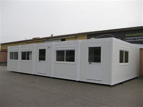 bureau préfabriqué occasion bureau modulaire batiment modulaire et bureau préfabriqué