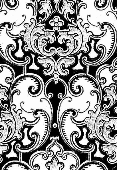 Digital Scroll Background Backgrounds Patterns Antique Swirls