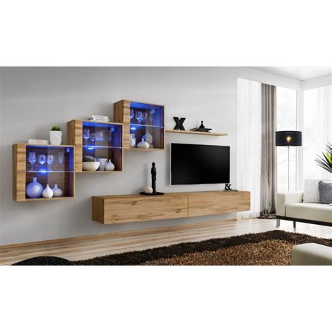 switch xv modular wall unit with led lights furniture