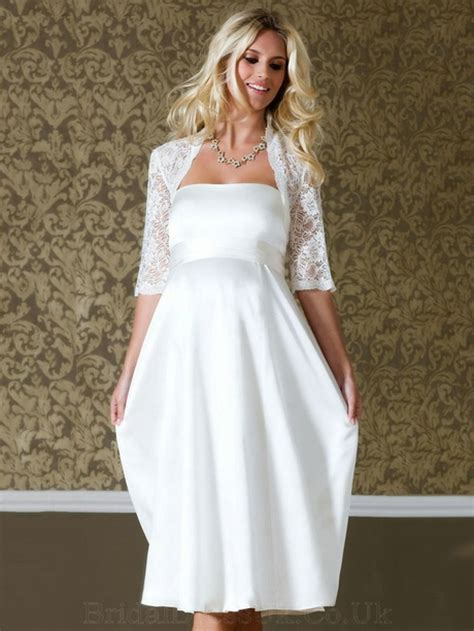 short wedding dresses  older brides