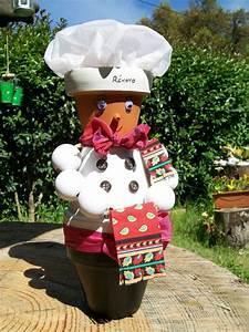 Creation Avec Des Pots De Fleurs : cuisinier mini pots de fleurs ~ Melissatoandfro.com Idées de Décoration