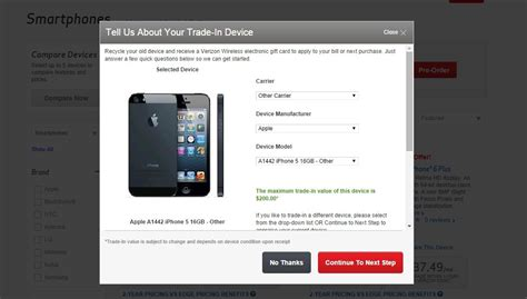 verizon iphone deal iphone 6 trade in deals compared