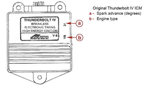 Thunderbolt Ignition Wiring by Mercruiser Ignition Module Perfprotech