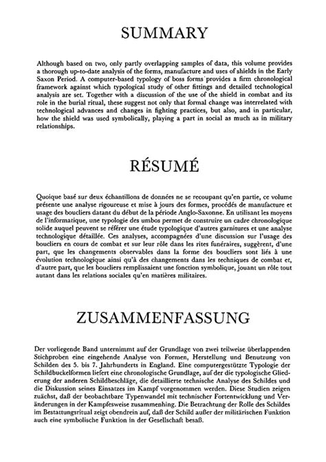 A Resume Summary by 10 Brief Guide To Resume Summary Writing Resume Sle