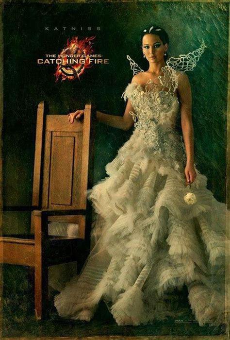 hunger fans see katniss everdeen s wedding gown bridalguide