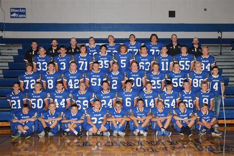 ashland greenwood public schools bluejay football whats