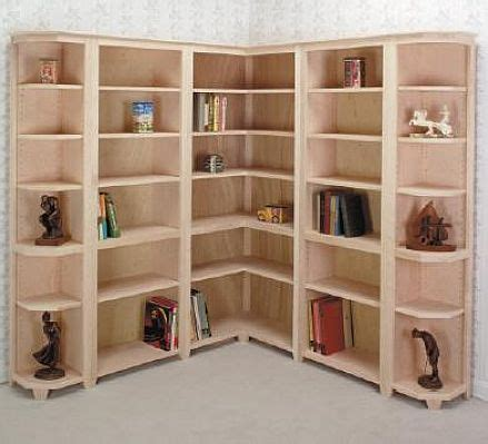 modern corner bookcase plans design home decoration