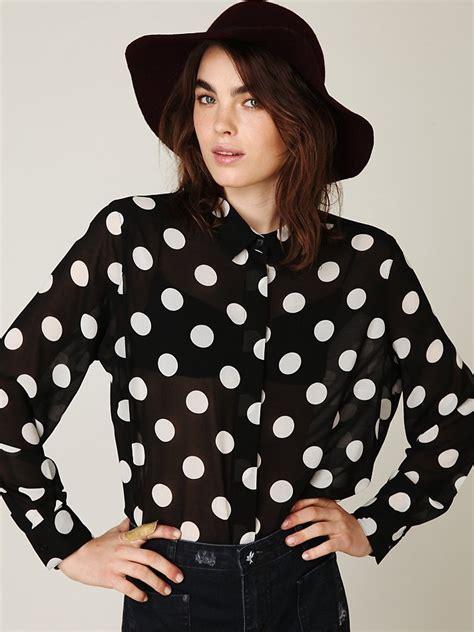 polka dot blouses polka dot blouse
