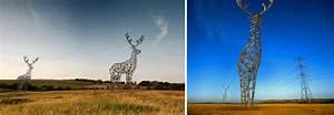 Et si les pylônes électriques devenaient de véritables œuvres d art