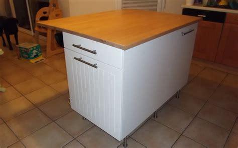 fabriquer ilot cuisine ilot central de cuisine sur mesure le du bois