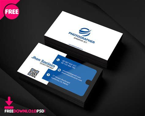 creative business card freedownloadpsdcom