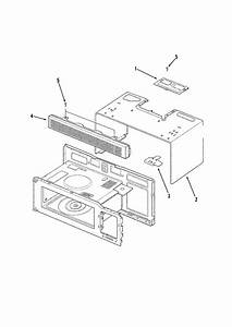 Maytag Mmv5207acq Microwave  Hood Combo Parts